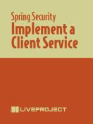 Implement a Client Service