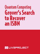 Grover's Search to Recover an ISBN
