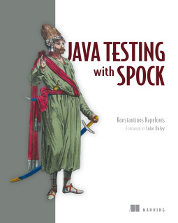 Java testing with Spock cover