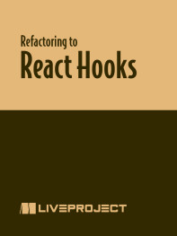 Refactoring to React Hooks