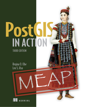 PostGIS in Action,3rd edition MEAP