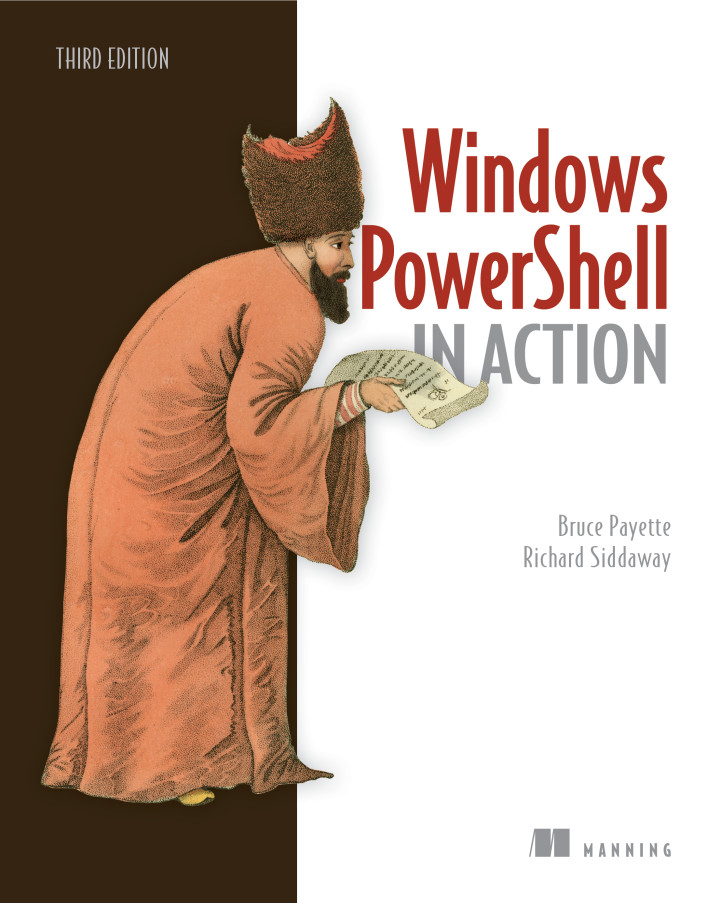 Manning | Windows PowerShell in Action, Third Edition