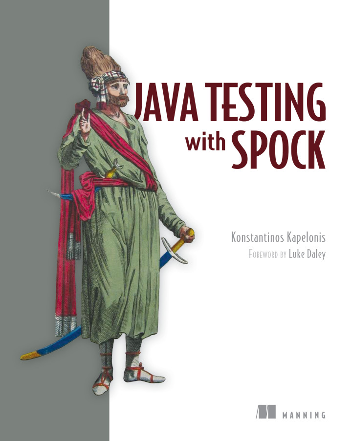 About this Book - Java Testing with Spock