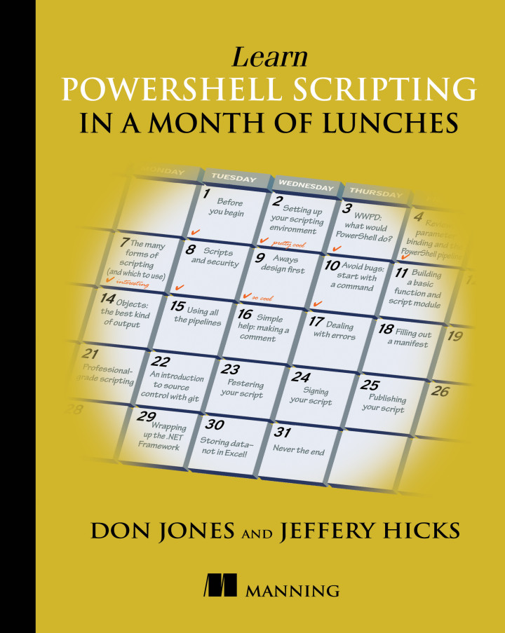 Manning | Learn PowerShell Scripting in a Month of Lunches